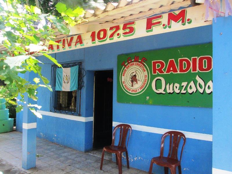 Instalaciones de Radio Quezada Educativa