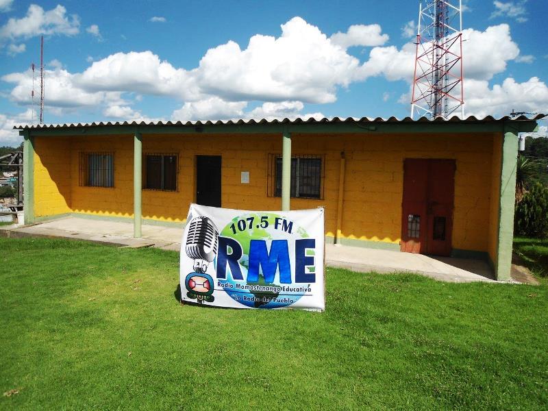 Instalaciones de Radio Momostenango Educativa